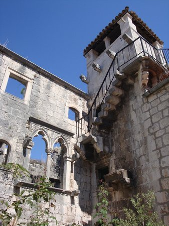 Korcula Old City: Marco Polo's haus