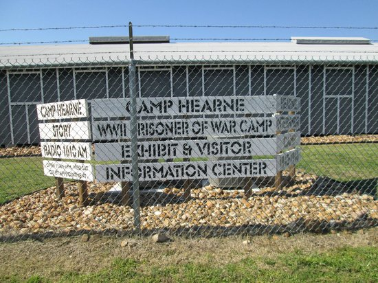Camp Hearne: Sign