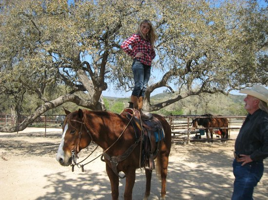 Rancho Cortez Day Trips: Standing tall in the saddle!