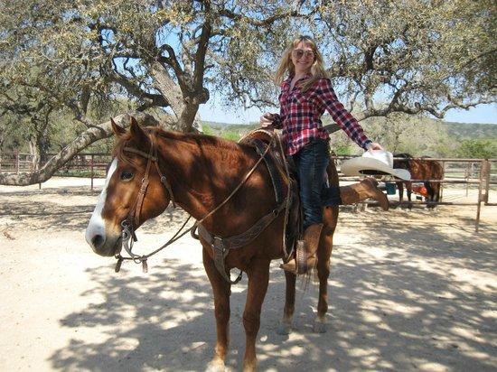 Rancho Cortez Day Trips: The Cowboy hello.