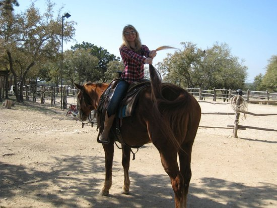 Rancho Cortez Day Trips: We don't ride like this in Texas!