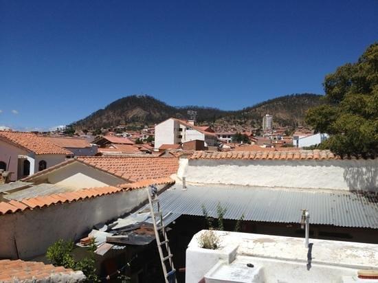 Hostal CasArte Takubamba: uitzicht van een van de kamers