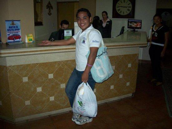 Hotel Seminole: en recepcion del hotel