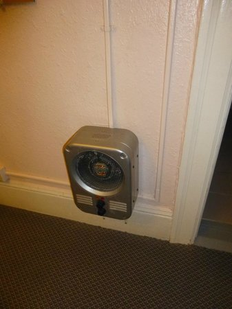 Astoria Hotel: Heater system