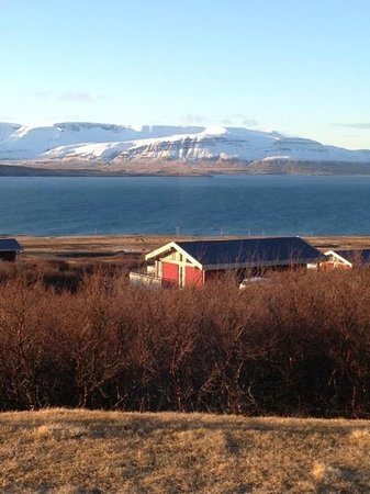 Akranes, IJsland: what a view!