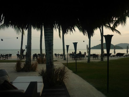 Casa del Mar, Langkawi: The view from the hotel bar