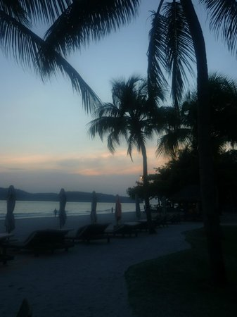 Casa del Mar, Langkawi: Beautiful view as the sun goes down