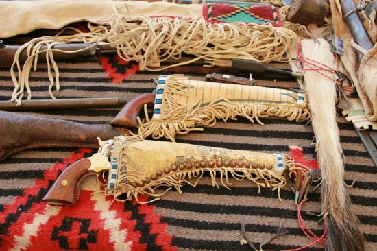 Jim Bridger's Rifle - Picture of Museum of the Mountain ...  Mountain