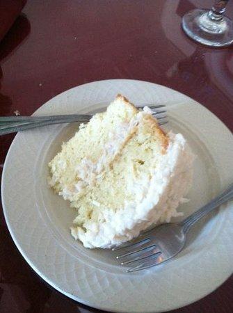 Jordan Street Cafe: coconut cake