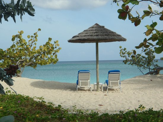 Spice Island Beach Resort: Our favourite spot.