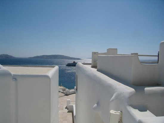 Rocabella Mykonos Art Hotel & SPA: The view even from the corridors is just amazing, Part 2!