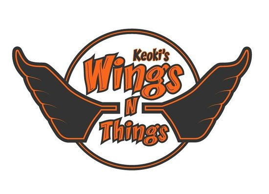 Keoki's Wings and Things: Logo