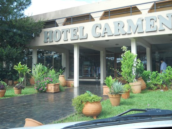 Hotel Carmen Iguazu: Entrada principal