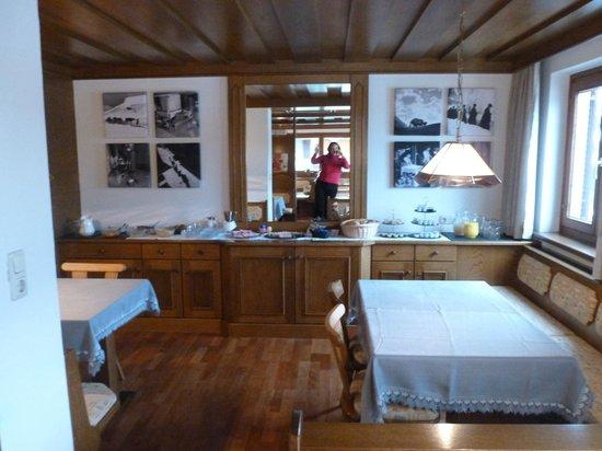 Pension Eppensteiner : Breakfast room