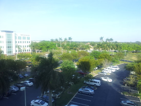 Renaissance Fort Lauderdale-Plantation Hotel: View from the room