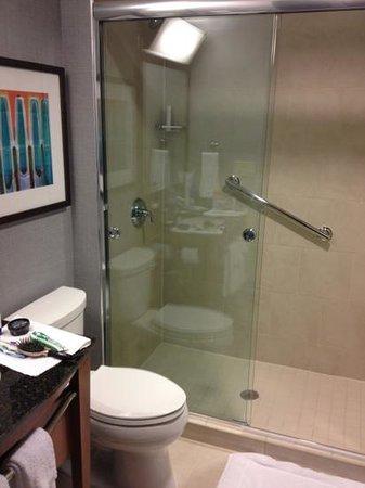 salle de bain avec douche - picture of hyatt place new york ... - Photos De Salle De Bain Avec Douche
