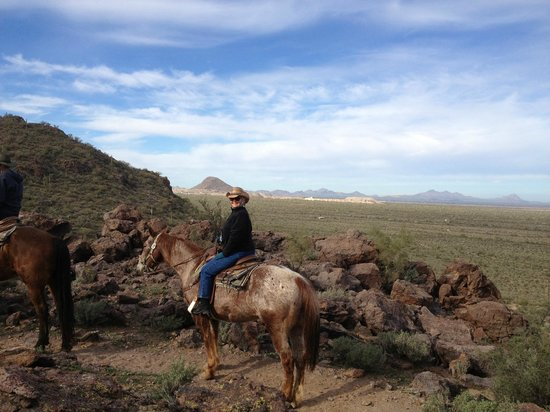 White Stallion Ranch: On top of the mountain