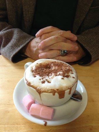 Marlene's Chocolate Haven : Yummy hot chocolate!