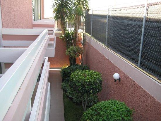 Hotel Horizon Morelia : Balcon