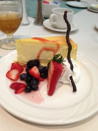 Grand Sierra Resort and Casino: Dessert - Cheesecake