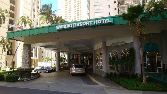 Waikiki Resort Hotel: Fachada