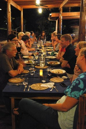 Daku Resort: Fun dining experience