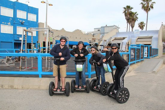 Elite Adventure Private Tours: Segway tour by Santa Monica pier
