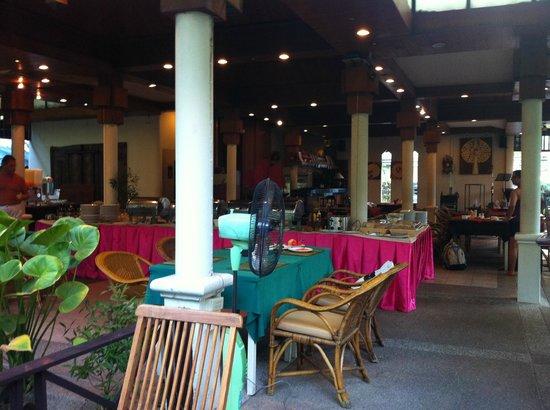 The Viridian Resort: colazione a buffet