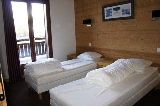 Dormio Resort Les Portes du Mont Blanc : Une des chambres