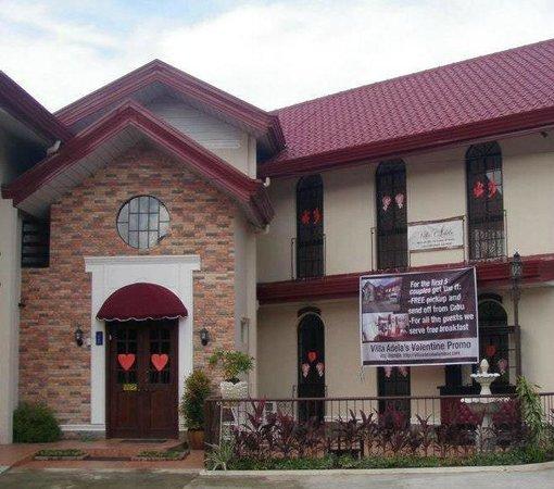 Outside shot of Villa Adela Hotel in Balamban