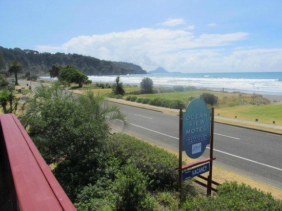 Ocean View Motel: Entrance toward beach