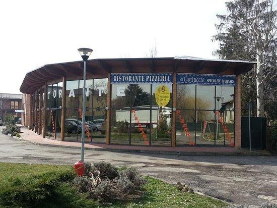 Bagno, Италия: Ristorante Pizzeria Al Cantuccio