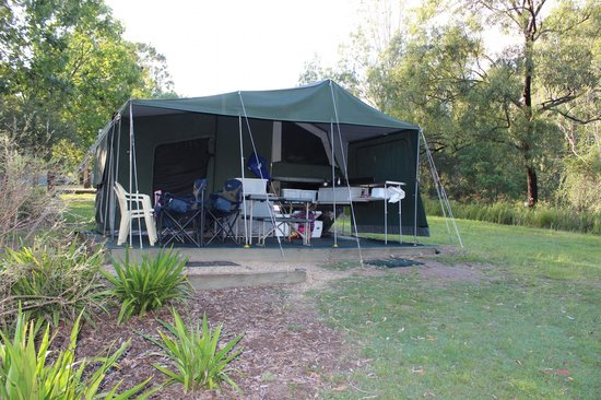 Mt Barney Lodge Country Retreat: Barney Camper Trailer