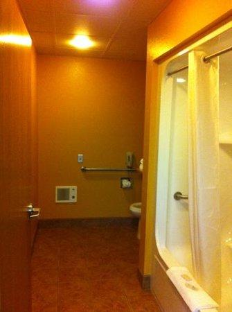 Parkfield Inn Warsaw: big bathroom