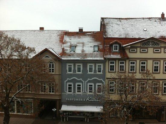 Hotel Zum Löwen: View from our hotel room