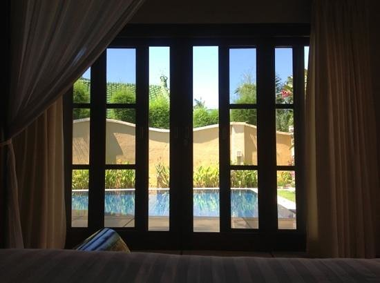 Emerald Villas: view from bed