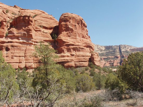 The Views Inn Sedona: Red Rock Formations