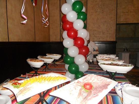 Velas Vallarta: Salads at Mexican Fiesta