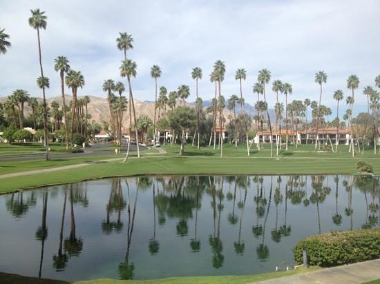 Omni Rancho Las Palmas Resort & Spa: view from 3200 building