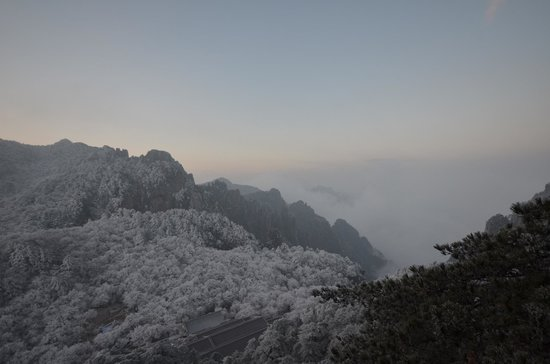 Mt. Huangshan (Yellow Mountain): view from the peak