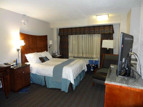 Capitol Hill Hotel: vista de habitacion
