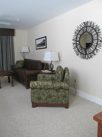 Jay Peak Resort: living area