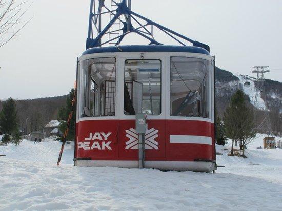 Jay Peak Resort: Old tram
