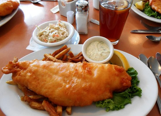 Mermaid Cafe: Great Fish & Chips