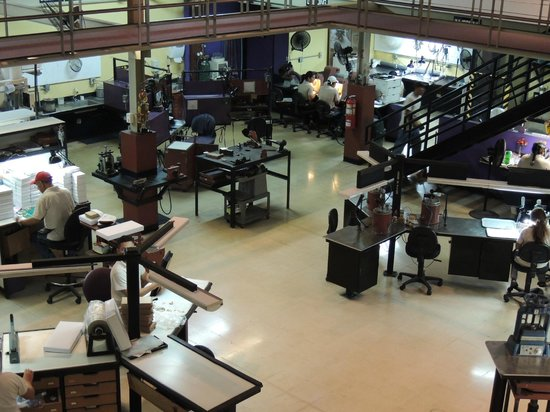 Treasures of Panama Experience: Part of the studio, where all details are performed