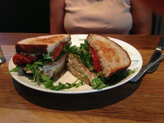 Roasted Turkey Sandwich Picture Of Juliette Kitchen Bar