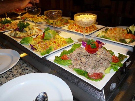 Dreams Palm Beach Punta Cana: Comida Buffet en el restaurant internacional