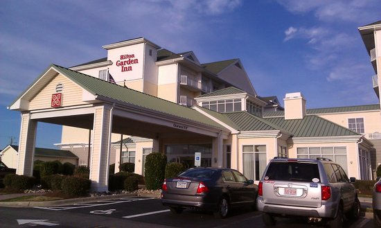 Front Of Hotel Picture Of Hilton Garden Inn Outer Banks Kitty Hawk Kitty Hawk Tripadvisor