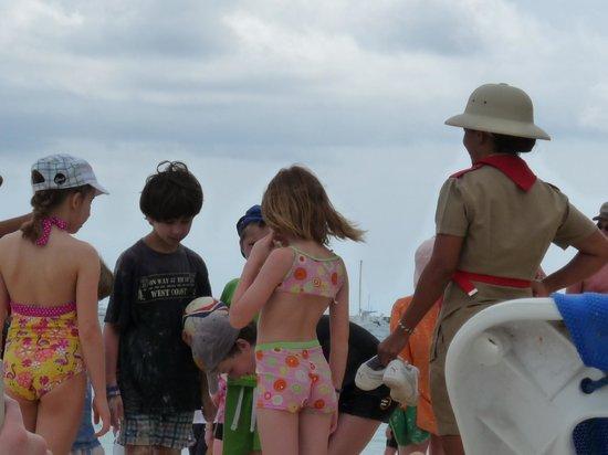 Dreams Palm Beach Punta Cana: Grupo de entretenimiento para los chicos