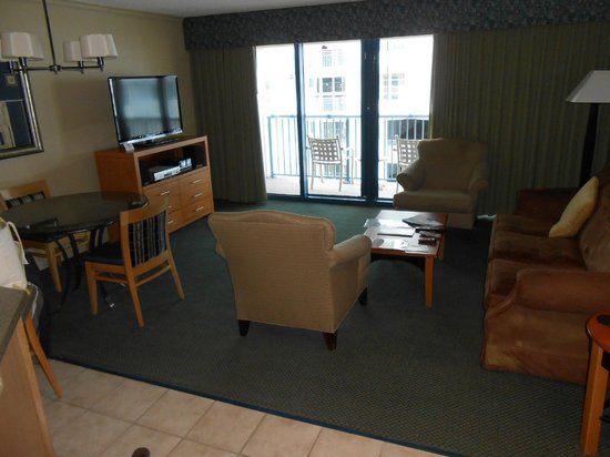 Daytona Beach Regency: Living Area